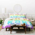 Dash and Ash Rainbow Mermaids Duvet Cover Bedding Sets , Comforter Set