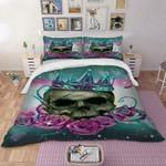 The Crowned Queen 3D Skull Bedding Set EXR7883 , Comforter Set