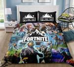 Team 2 - Fortnite Gamer - Bedding Set (Duvet Cover & Pillowcases) Exr7828 , Comforter Set