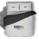Resident Evil Biohazard Logo 3D Personalized Customized Bedding Sets Duvet Cover Bedroom Sets Bedset Bedlinen , Comforter Set