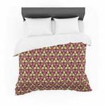 "Nick Atkinson ""Infinite Flowers Red"" Cotton3D Customize Bedding Set Duvet Cover SetBedroom Set Bedlinen , Comforter Set"