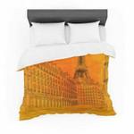 "Fotios Pavlopoulos ""Parisianun"" Orange City Featherweight3D Customize Bedding Set/ Duvet Cover Set/  Bedroom Set/ Bedlinen , Comforter Set"