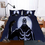 Fortnite Night Theme Digital Print Bedding Multi Size Selection Black Exr6006 , Comforter Set