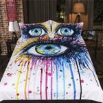Rainbow Fire by Pixie Cold Art 3D Customize Bedding Set/ Duvet Cover Set/  Bedroom Set/ Bedlinen , Comforter Set