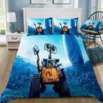Disney Wall E #2 3D Personalized Customized Bedding Sets Duvet Cover Bedroom Sets Bedset Bedlinen , Comforter Set