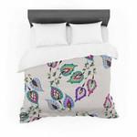 "Louise ""Leave"" Pink Featherweight3D Customize Bedding Set/ Duvet Cover Set/  Bedroom Set/ Bedlinen , Comforter Set"