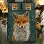 Fox Collection #0910193D Customize Bedding Set Duvet Cover SetBedroom Set Bedlinen , Comforter Set