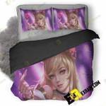 Ahri Lol J5 3D Customized Bedding Sets Duvet Cover Set Bedset Bedroom Set Bedlinen , Comforter Set