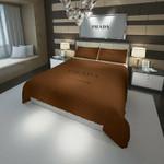 Prada Logo Custom Bedding Set Duvet Cover #2 EXR7167 , Comforter Set