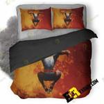 Spiderman Jumping Hd 3A 3D Customized Bedding Sets Duvet Cover Set Bedset Bedroom Set Bedlinen , Comforter Set