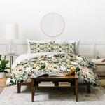 Marta Barragan Camarasa Romantic boho floral skull I Duvet Cover Bedding Sets , Comforter Set