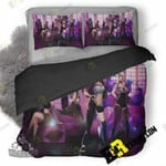 Ahri Akali Evelynn And Kaisa League Of Legends Girls F4 3D Customized Bedding Sets Duvet Cover Set Bedset Bedroom Set Bedlinen , Comforter Set