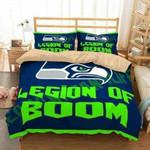 Seattle Seahawks 3D Personalized Customized Bedding Sets Duvet Cover Bedroom Sets Bedset Bedlinen , Comforter Set
