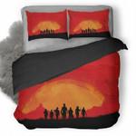 Red Dead Redemption #13 3D Personalized Customized Bedding Sets Duvet Cover Bedroom Sets Bedset Bedlinen , Comforter Set