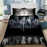 Game Of Thrones Winter Is Coming #13 3D Personalized Customized Bedding Sets Duvet Cover Bedroom Sets Bedset Bedlinen , Comforter Set