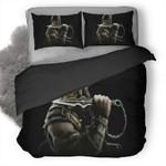 Mortal Kombat Scorpion #6 3D Personalized Customized Bedding Sets Duvet Cover Bedroom Sets Bedset Bedlinen , Comforter Set