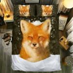 Fox Collection #0911103D Customize Bedding Set Duvet Cover SetBedroom Set Bedlinen , Comforter Set