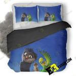 Richard The Stork Animated Movie 4K 3D Customize Bedding Sets Duvet Cover Bedroom set Bedset Bedlinen , Comforter Set