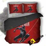 Black Spiderman Ps4 Gt 3D Customized Bedding Sets Duvet Cover Set Bedset Bedroom Set Bedlinen , Comforter Set