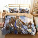 Anduin Wrynn World Of Warcraft 3D Personalized Customized Bedding Sets Duvet Cover Bedroom Sets Bedset Bedlinen , Comforter Set