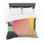 """Danny Ivan """"Objectum"""" Pink Abstract Featherweight3D Customize Bedding Set/ Duvet Cover Set/  Bedroom Set/ Bedlinen , Comforter Set"""