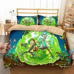 3D Customize Rick And Morty Bedding Set Duvet Cover Set Bedroom Set Bedlinen EXR3309 , Comforter Set