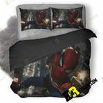 Marvel Spiderman Ps4 7U 3D Customized Bedding Sets Duvet Cover Set Bedset Bedroom Set Bedlinen , Comforter Set