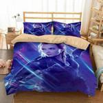 3D Customize Black Widow in Avengers Endgame Bedding Set Duvet Cover Set Bedroom Set Bedlinen EXR916 , Comforter Set