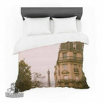 "Ann Barnes ""Lady Beckons"" Blush Tan Featherweight3D Customize Bedding Set Duvet Cover SetBedroom Set Bedlinen , Comforter Set"