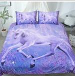 DefaultPurple Unicorns3D Customize Bedding Set Duvet Cover SetBedroom Set Bedlinen , Comforter Set