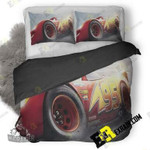 Lightning Mcqueen Cars 3 Hd Er 3D Customize Bedding Sets Duvet Cover Bedroom set Bedset Bedlinen , Comforter Set