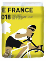 My Tour De France Minimal Poster 2018 3D Personalized Customized Duvet Cover Bedding Sets Bedset Bedroom Set , Comforter Set
