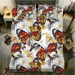 DefaultButterfly In Fall3D Customize Bedding Set Duvet Cover SetBedroom Set Bedlinen , Comforter Set