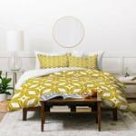 Heather Dutton Starbust Gold Duvet Cover Bedding Sets , Comforter Set