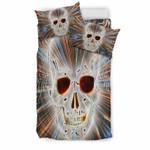 Skull Web 3D Customize Bedding Set/ Duvet Cover Set/  Bedroom Set/ Bedlinen , Comforter Set