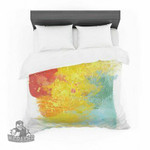 "Oriana Cordero ""Medley"" Colorful Paint Featherweight3D Customize Bedding Set/ Duvet Cover Set/  Bedroom Set/ Bedlinen , Comforter Set"