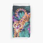 Jumping Tiger - Flying Toucan 3D Personalized Customized Duvet Cover Bedding Sets Bedset Bedroom Set , Comforter Set
