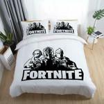 Game Fortnite Battle Royale Et Bedroomet Bed 3D Bag Gamekin3D Customize Bedding Set/ Duvet Cover Set/  Bedroom Set/ Bedlinen , Comforter Set