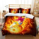 3D Customize Dragon Ball Super Bedding Set Duvet Cover Set Bedroom Set Bedlinen EXR1470 , Comforter Set