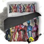 Power Rangers New Pk 3D Customize Bedding Sets Duvet Cover Bedroom set Bedset Bedlinen , Comforter Set