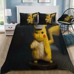 3D Customize Pokmon Detective Pikachu Bedding Set Duvet Cover #44 EXR3164 , Comforter Set