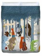 Little Nature Parade 3D Personalized Customized Duvet Cover Bedding Sets Bedset Bedroom Set , Comforter Set