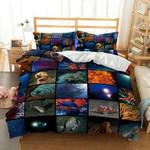 Sea Life Collage 3D Customize Bedding Set Duvet Cover SetBedroom Set Bedlinen , Comforter Set