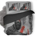 God Of War Kratos #44 3D Personalized Customized Bedding Sets Duvet Cover Bedroom Sets Bedset Bedlinen , Comforter Set