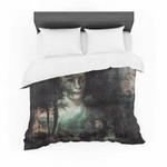 "Suzanne Carter ""Lady Grace"" Dark Featherweight3D Customize Bedding Set/ Duvet Cover Set/  Bedroom Set/ Bedlinen , Comforter Set"