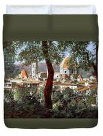 Firenze 3D Personalized Customized Duvet Cover Bedding Sets Bedset Bedroom Set , Comforter Set