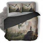 The Elder Scrolls Elsweyr 3D Personalized Customized Bedding Sets Duvet Cover Bedroom Sets Bedset Bedlinen , Comforter Set