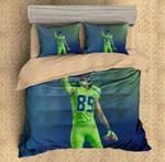 Doug Baldwin Seattle Seahawks 3D Personalized Customized Bedding Sets Duvet Cover Bedroom Sets Bedset Bedlinen , Comforter Set