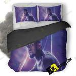 Black Panther In Avengers Infinity War 8K Poster E5 3D Customize Bedding Sets Duvet Cover Bedroom set Bedset Bedlinen , Comforter Set