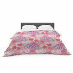 """Annelineophia """"Baroque Butterflies"""" Featherweight3D Customize Bedding Set/ Duvet Cover Set/  Bedroom Set/ Bedlinen , Comforter Set"""